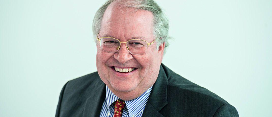 Bill Miller: Der Manager wurde dafür bekannt, dass er mit dem in den USA angebotenen Aktienfonds Legg Mason Value Trust zwischen 1991 und 2005 insgesamt 15 Jahre in Folge seinen Vergleichsindex S&P 500 geschlagen hatte. |© Uwe Noelke