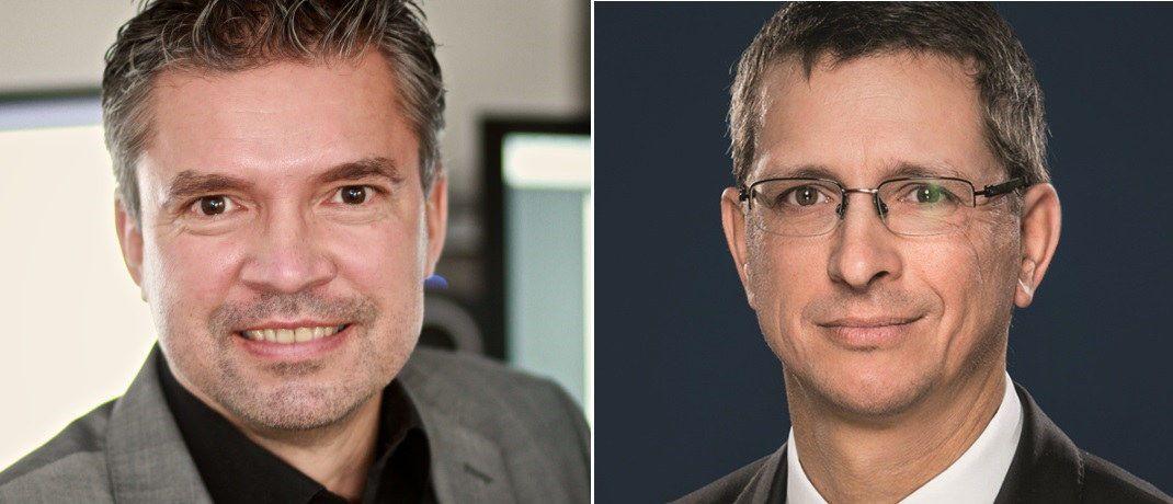 Software-Ingenieur Harald Müller-Delius (links) und Rechtsanwalt Norman Wirth: Die beiden Experten geben Maklern Tipps, was es in Sachen Datenschutz nun zu tun gibt. |© HMData / Wirth Rechtsanwälte