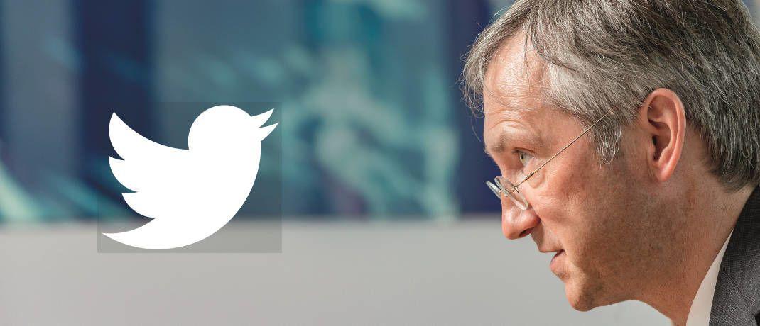 Jetzt über seine Firma auch auf Twitter unterwegs: Flossbach-von-Storch-Mitgründer Bert Flossbach|© Jürgen Bindrin