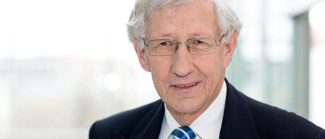 Gerd Nobbe: Der ehemalige Richter am Bundesgerichtshof ist Experte für Bank- und Kapitalmarktrecht und seit 2011 als Fondsombudsmann tätig.|© Ombudsstelle des BVI