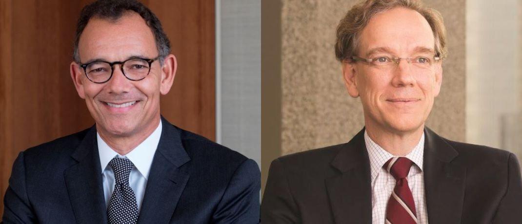 """Matt Miller, politischer Volkswirt, und Rob Lovelace, Vice Chairman bei Capital Group: """"Chinas wirtschaftliche Macht wächst, und die weltpolitischen Ambitionen werden immer klarer."""""""
