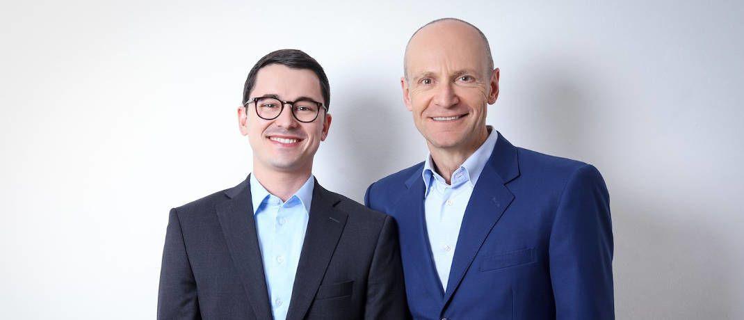 Alexander Weis (links) und Gerd Kommer vom Finanzdienstleister Gerd Kommer Invest sind nicht der Meinung, dass Anleger sich mit einem regelrechten Notstand auseinandersetzen müssen|© Gerd Kommer Invest
