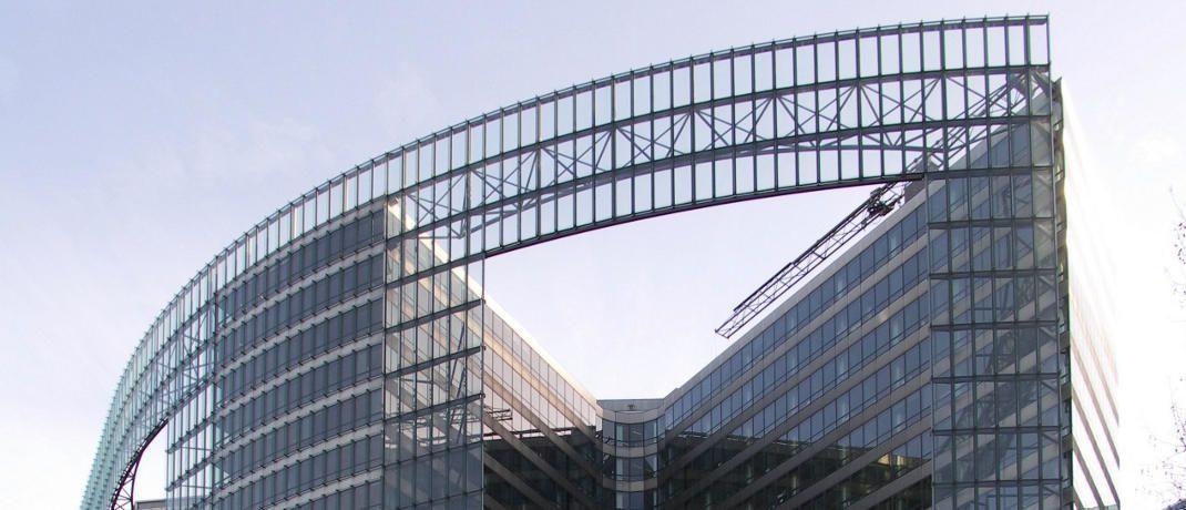 Geb&auml;ude der Europ&auml;ischen Kommission: Br&uuml;ssel will die Finanzm&auml;rkte im europ&auml;ischen Binnenmarkt harmonisieren.&nbsp;|&nbsp;&copy; Fluke / <a href='http://www.pixelio.de/' target='_blank'>pixelio.de</a>