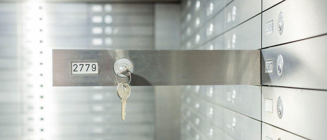 Banktresor: Im Schließfach der Hausbank sind Wertsachen genauso gut geschützt wie das Geld der Bank.|© Bankenverband - Bundesverband deutscher Banken