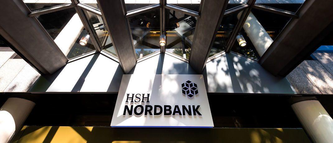 Eingangsbereich der HSH Nordbank in der Hamburger Innenstadt: Die Bank wird nach ihrer jahrelangen Krisengeschichte in diesem Sommer frei von Altlasten an ihre neuen Eigentümer übergeben. |© HSH Nordbank AG