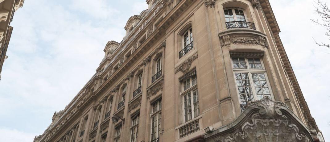 Oddo BHF-Zentrale in Paris. Nach der Fusion beschäftigt Oddo BHF AM rund 300 Mitarbeiter und verfügt über drei Investmentzentren in Paris, Düsseldorf und Frankfurt am Main