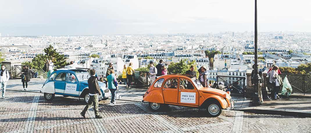 Blick auf Paris: Frankreich ist die drittgrößte Länderposition im Fonds.