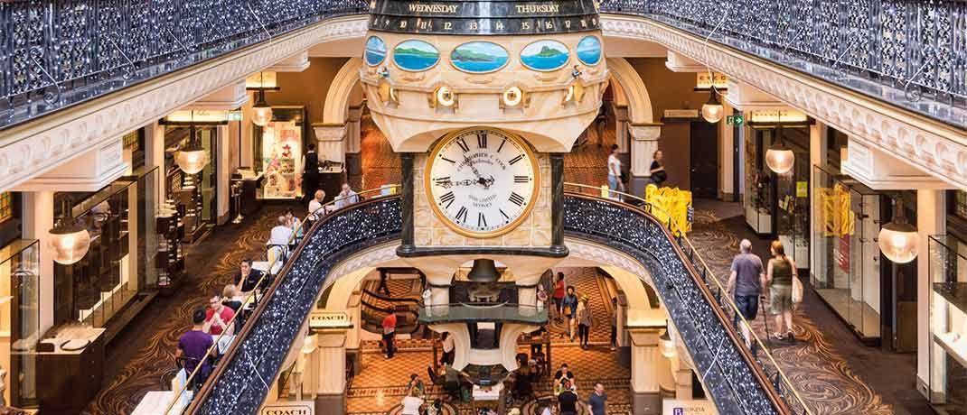Einkaufszentrum  im australischen Sydney.  Australien zählt zu den fünf größten Länder positionen im Fonds.