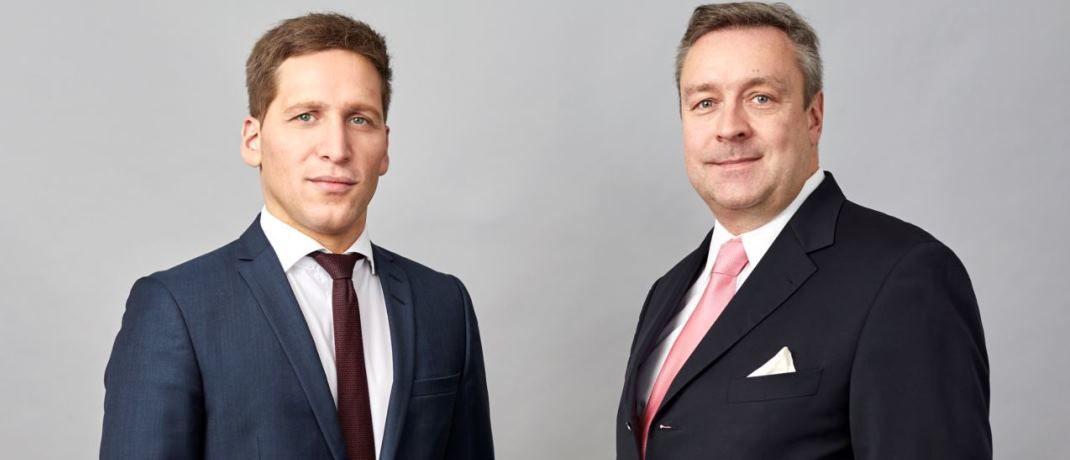 """Ufuk Boydak (l.) und Christoph Bruns (r.), Vorstandsmitglieder bei Loys: """"Ob der neue Wirtschaftsminister Peter Altmaier imstande sein wird, die Bedeutung der Beteiligung der Bürger an der Wirtschaft durch Aktienbesitz zu erkennen, muss sich zeigen."""""""