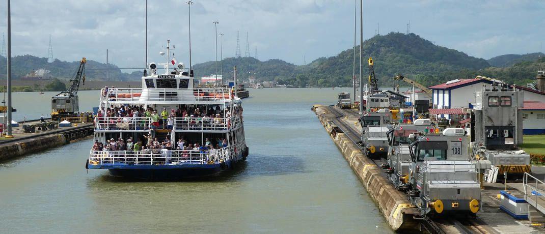 Panama-Kanal: Die Volksrepublik China bindet Panama in ihr Prestige-Infrastrukturprojekt einer neuen Seidenstraße ein.|© Pixabay