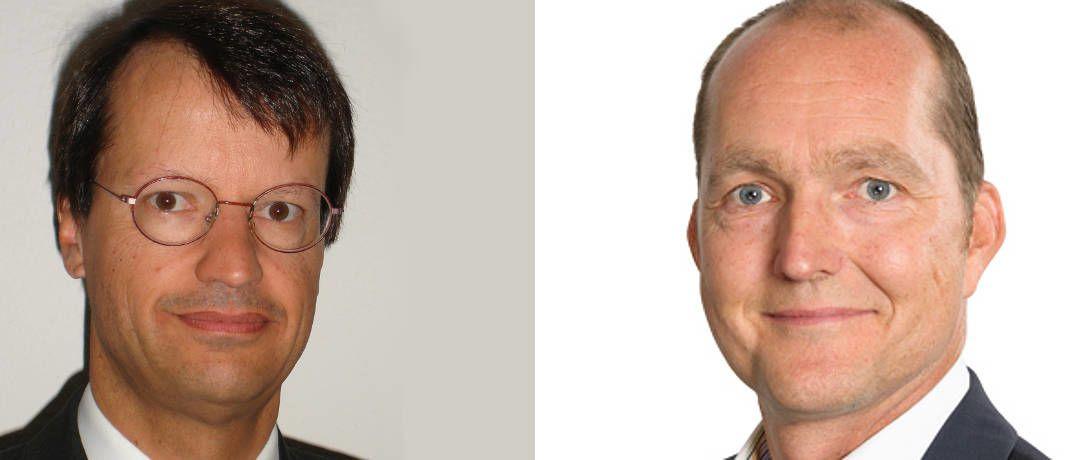 Frischgebackene Geschäftspartner: Manuel Reimer, Geschäftsführer von V-D-V (links), und Karsten Dümmler, Vorstandschef bei Netfonds