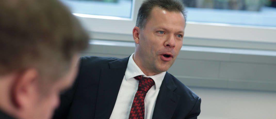Vertriebsmann Roland Schmidt