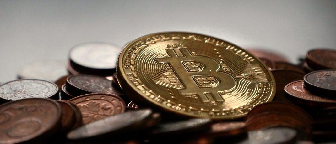 Macht sogar Gold Konkurrenz: Symbolische Münze der Kryptowährung Bitcoin. © Pexels