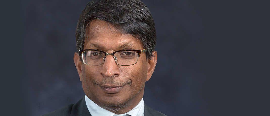 Harindra de Silva ist einer der Portfoliomanager für den neuen Wells-Fargo-Fonds © Wells Fargo AM