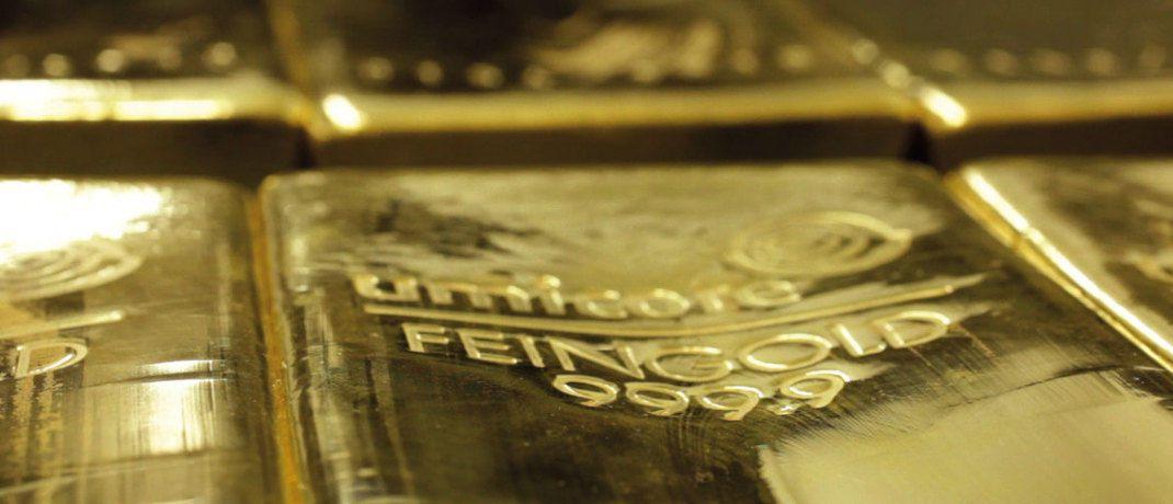 Xetra-Gold: Die Inhaberschuldverschreibungen gewähren dem Inhaber ein Recht auf die Auslieferung von Gold. Mit den steuerrechtlichen für die Anleger beschäftigten sich jetzt die Richter am Bundesfinanzhof (BFH, Urteil vom 06.02.2018 - IX R 33/17). © Gruppe Deutsche Börse