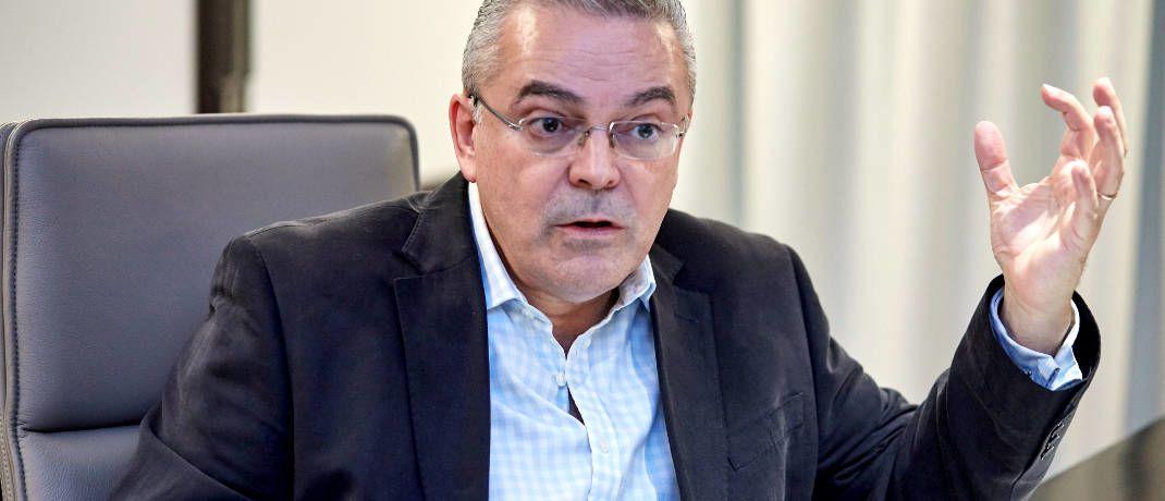 Juan Nevado ist bei M&G unter anderem für den fast 8 Milliarden Euro schweren Mischfonds M&G Dynamic Allocation zuständig|© Piotr Banczerowski