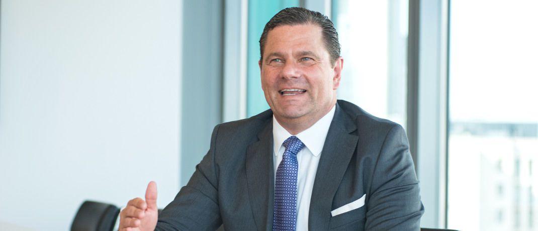 Vanyo Walter ist Geschäftsführer bei Pictet Asset Management in Deutschland. Davor war er von 2001 bis 2004 Mitglied der Geschäftsleitung von Pioneer Investments in Deutschland.  |© Martin Joppen