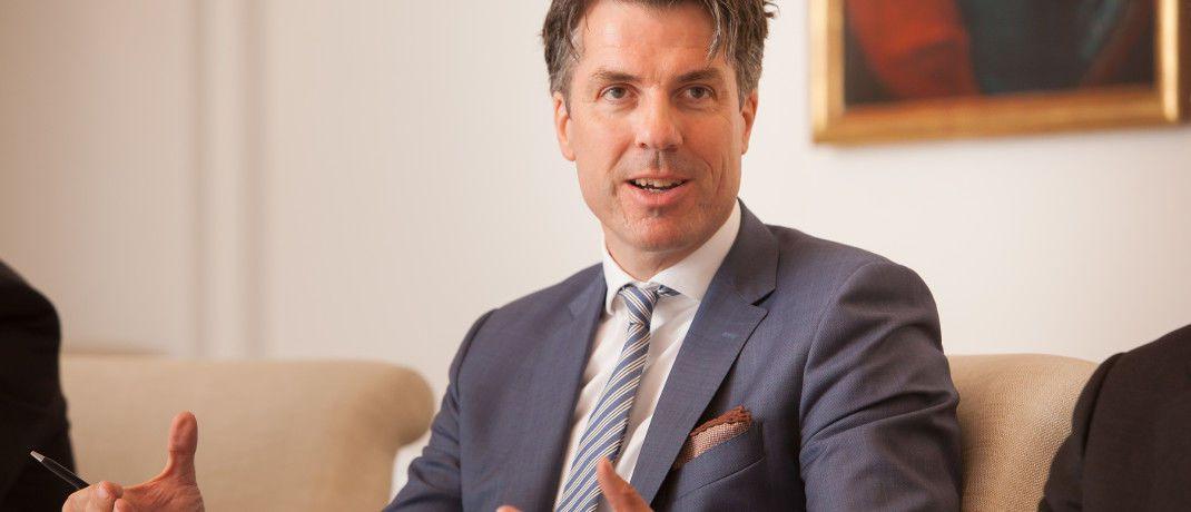 Christoph Benner, geschäftsführender Gesellschafter von Chom Capital|© Florian Sonntag