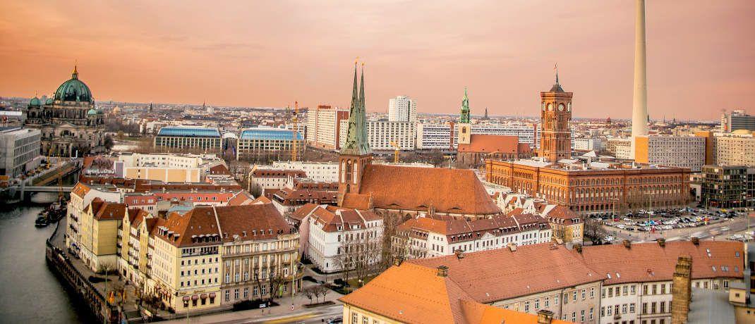 Blick auf Berlin: In Deutschlands Hauptstadt sind die Hebesätze für die Berechnung der Grundsteuer mit Abstand am höchsten.|© Pixabay