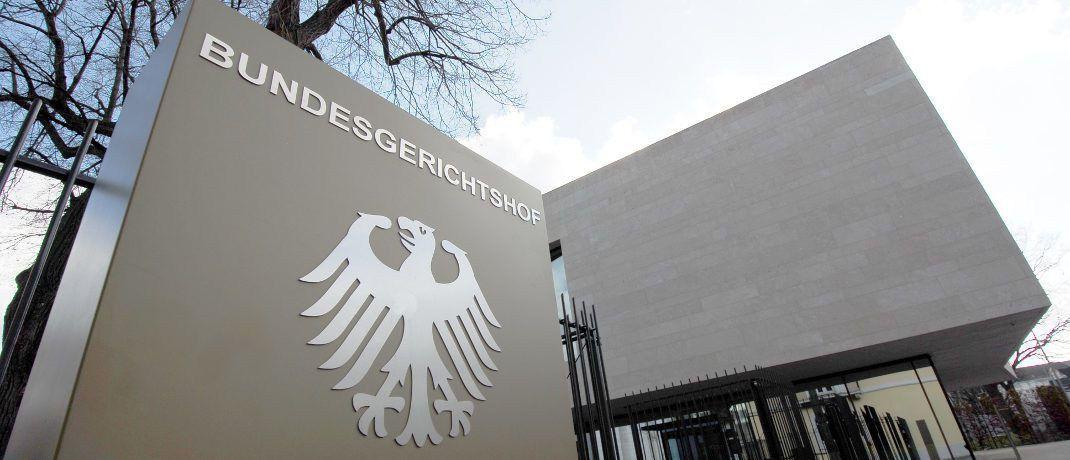 Der Bundesgerichtshof in Karlsruhe: In der kommenden Woche werden Richter darüber entscheiden, ob das Lebensversicherungsreformgesetz verfassungsgemäß ist, oder nicht.|© H.D.Volz / <a href='http://www.pixelio.de/' target='_blank'>pixelio.de</a>