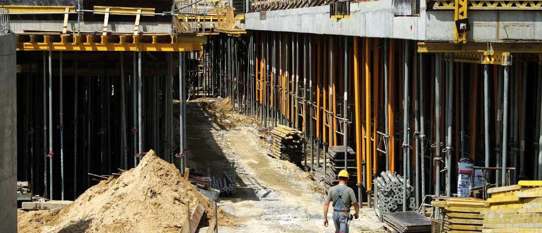 Arbeiter auf einer Baustelle: Kleine und mittlere Unternehmen beschäftigen derzeit rund 60 Prozent der sozialversicherungspflichtigen Arbeitnehmer in Deutschland.|© Pixabay