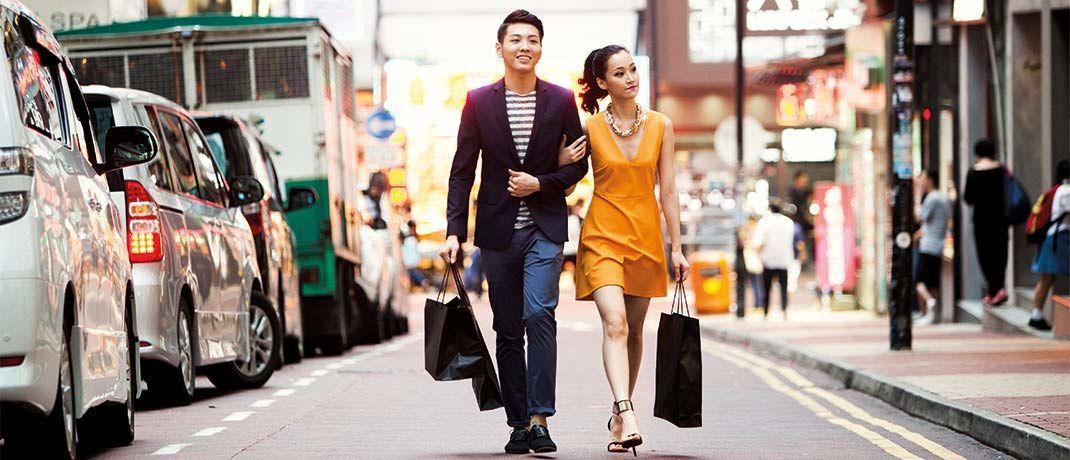 Shoppen in Schanghai: Der TAMAC Qilin-China Champions setzt auf Chinas Marktführer von morgen.   © visualspace/iStock