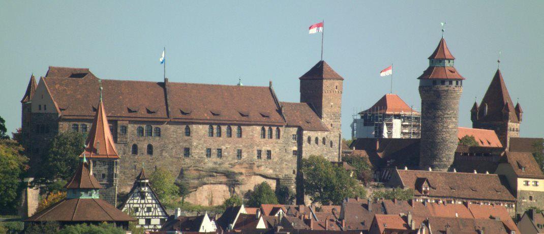 Nürnberg ist nicht New York: Das Wahrzeichen Nürnbergs, die Kaiserburg. |© DALIBRI CC BY-SA 3.0