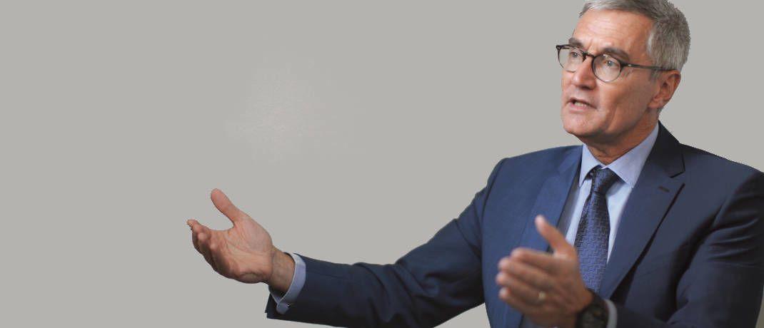 Sieht gute Wirtschaftsanalyse wieder im Kommen: Kapitalmarkt-Spezialist Didier Saint-Georges, Carmignac Gestion|© Pablo Monge Fernandez