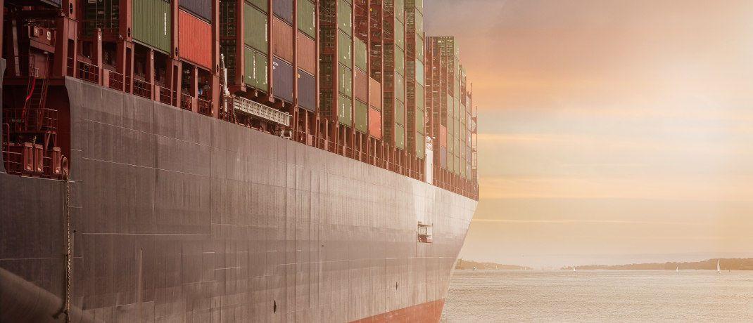 Containerschiff: Die Verantwortlichen der Investmentgesellschaft P&R sollen ihre Anleger betrogen haben. © Pixabay