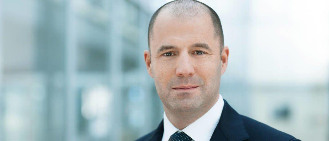 Thorsten Michalik leitet den Vertrieb und ist Mitglied der Geschäftsführung der DWS|© DWS