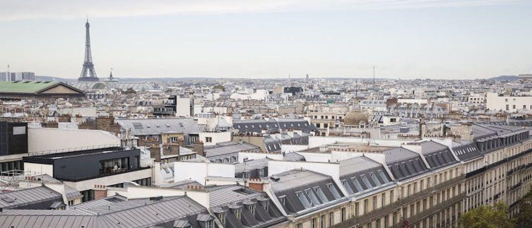 Blick auf Paris: Die französische Axa Investment Managers - Real Assets ist die größte Immobilienfondsgesellschaft in Europa.|© Snapwire