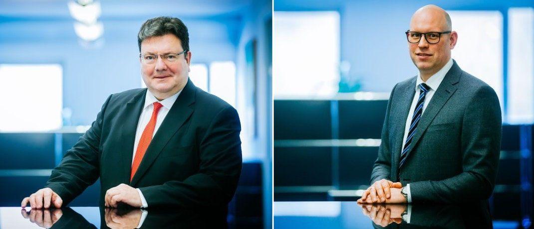 Andreas Tilp (links) und Marvin Kewe sprechen im Interview über das anstehende P&R-Insolvenzverfahren. |© Tilp Rechtsanwaltsgesellschaft