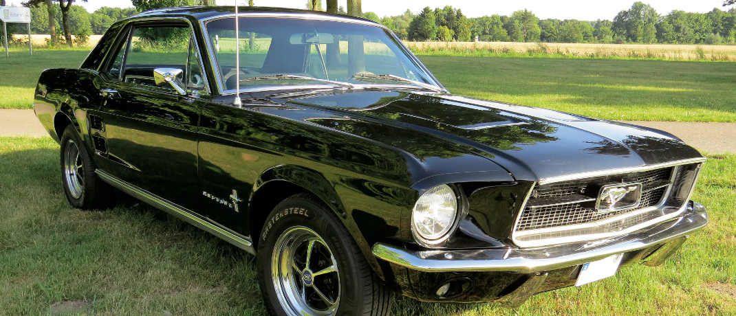 Serge Nihons Ford Mustang.
