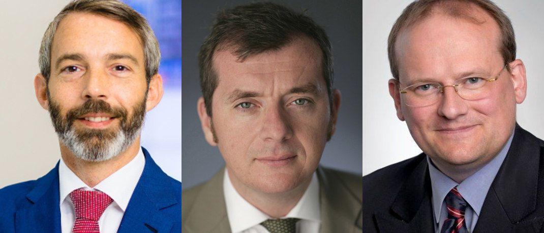 Thorsten Winkelmann, Paul McNamara und Michael Fraikin|© AGI, GAM, Invesco