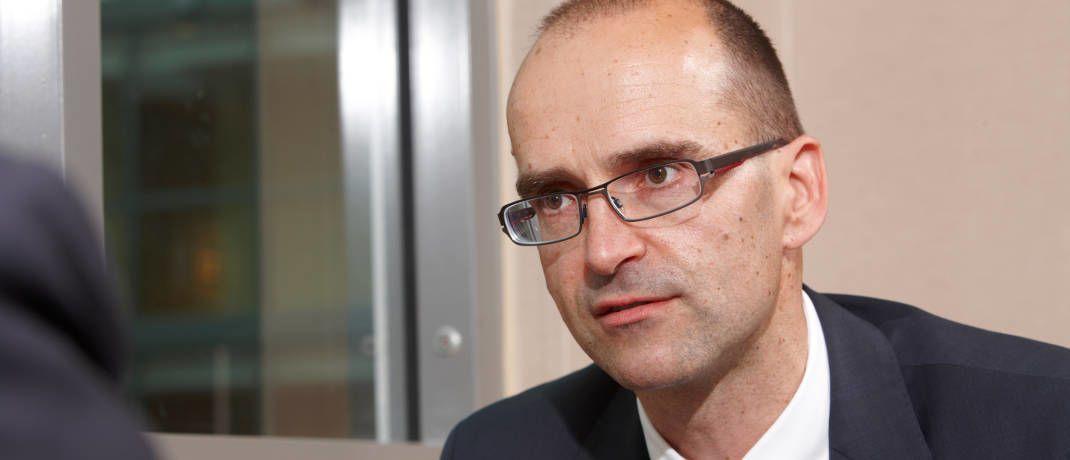 Andre Köttner managt den DWS Vermögensbildungsfonds I seit dem 22. Februar 2013|© Tom Hönig