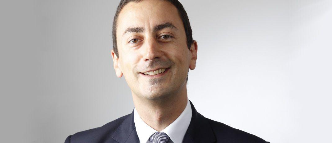 Nicolas Delrue: Der Leiter des Teams für Wandelanleihen bei der Schweizer Privatbank UBP erklärt, wie sich Anleger gegen Korrekturen am Aktienmarkt absichern können. |© Union Bancaire Privée