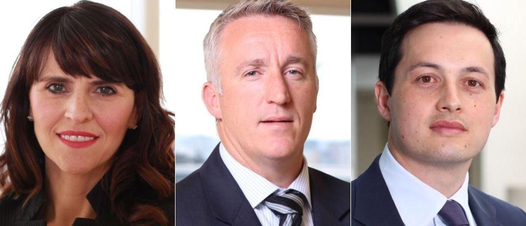 Alison Porter (l.), Graeme Clark und Richard Clode, Manager der Global Technology Strategie bei Janus Henderson Invesotrs|© Janus Henderson Investors