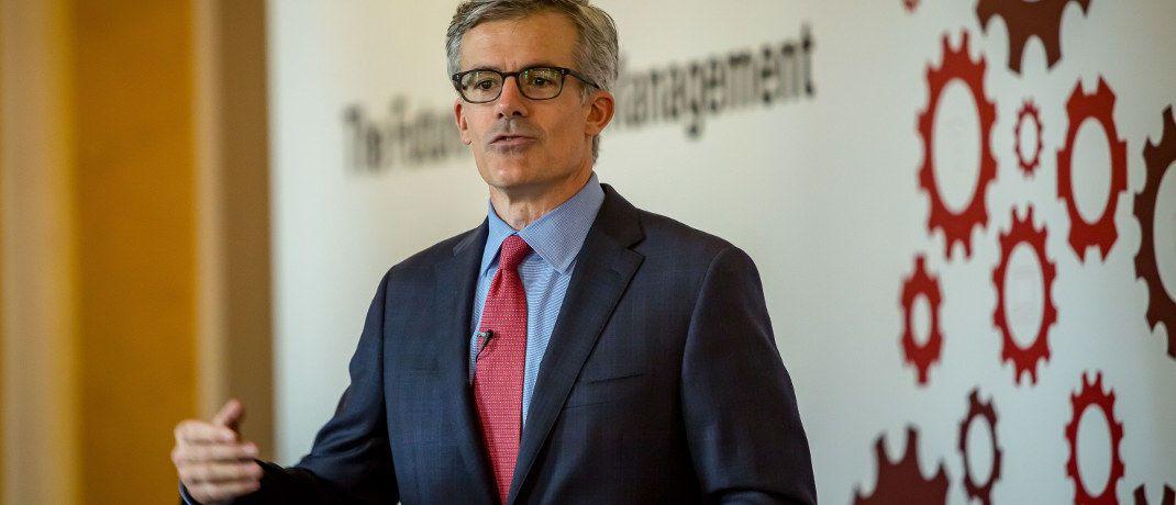 Tim Buckley: Der Vanguard-Chef betont, dass geringere Produktkosten höhere Erträge für Anleger bedeuten.|© Vanguard Asset Management