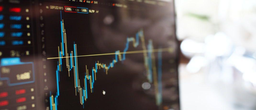 Kurs-Chart: Vermögensverwalter bleiben einer Umfrage zufolge gelassen|© Pexels