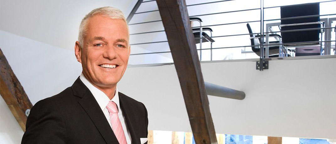Peter Hoppe ist Chef des Mendener Vermögensverwalters Hoppe Vermögensbetreuung.|© Hoppe Vermögensbetreuung