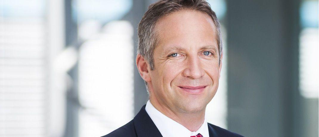 Norbert Porazik ist geschäftsführender Gesellschafter beim Münchner Maklerpools Fonds Finanz.|© Markus Kiener/Fonds Finanz