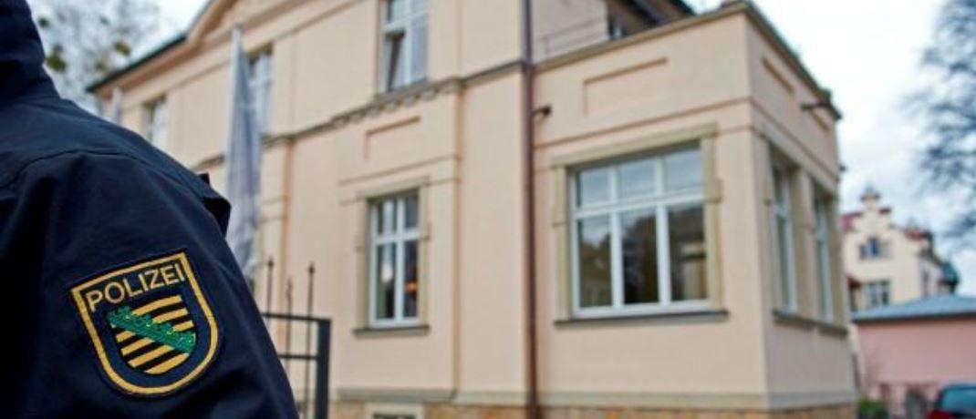 Die Razzia bei Infinus im Jahr 2013: Das Landgericht Dresden hat nun sechs Ex-Manager zu langjährigen Haftstrafen verurteilt.|© Robert Michael