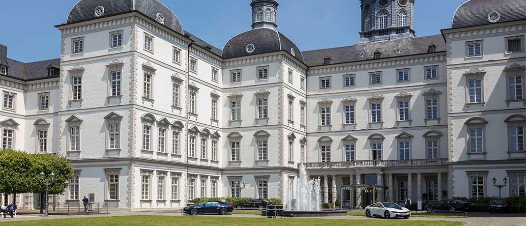 Bereits zum fünften Mal Veranstaltungsort der Branchenmesse Finpro: Schloss Bensberg bei Köln|© V.E.R.S. Leipzig