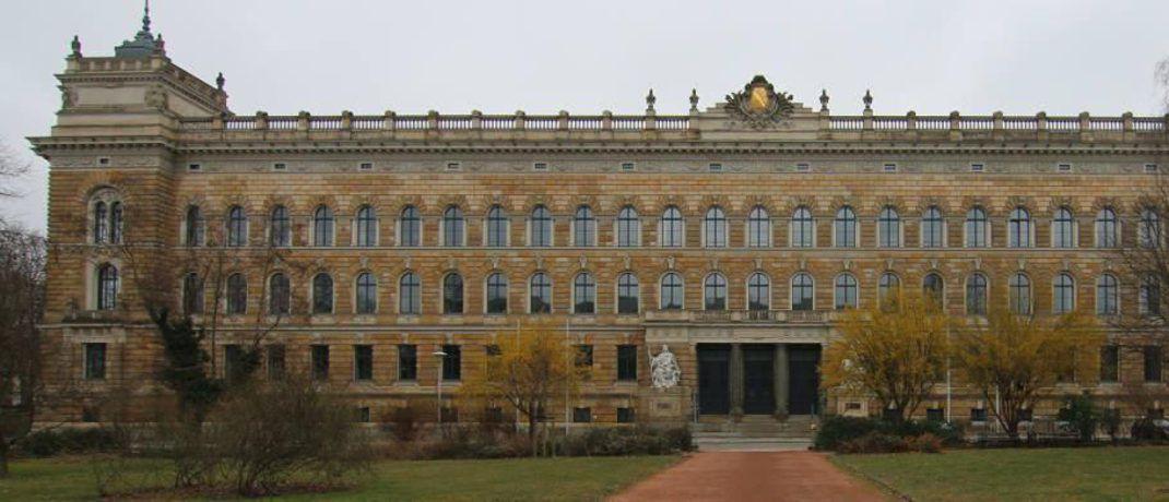 Landgericht Dresden: Dort findet seit November 2015 der Prozess um den Finanzdienstleister Infinus statt&nbsp;|&nbsp;&copy; <a href='https://commons.wikimedia.org/wiki/User:DCB' target='_blank'>DCB</a>