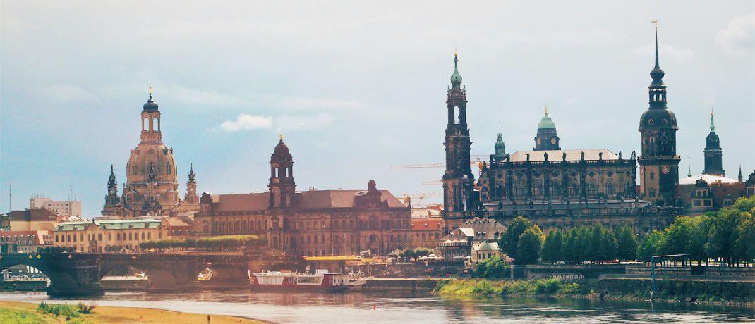 Blick auf Dresden, der Heimat des insolventen Finanzdienstleisters Infinus.|© Jens Mahnke