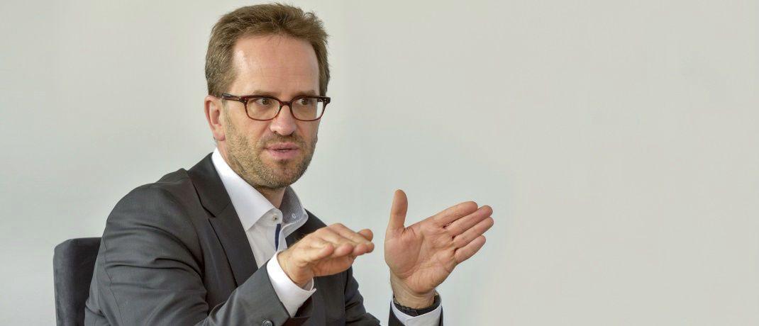 Klaus Müller ist Vorstand des Verbraucherzentrale Bundesverbands: Um Vorsorgeprodukte attraktiver zu machen, müsse man die Provisionen abschaffen, sagt er.|© VZBV, Gert Baumbach