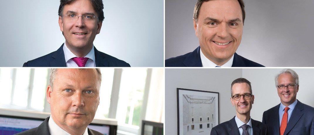 Die Fondsmanager einiger Fonds, die beim Vermögensverwalter RP derzeit unter den Favoriten rangieren.