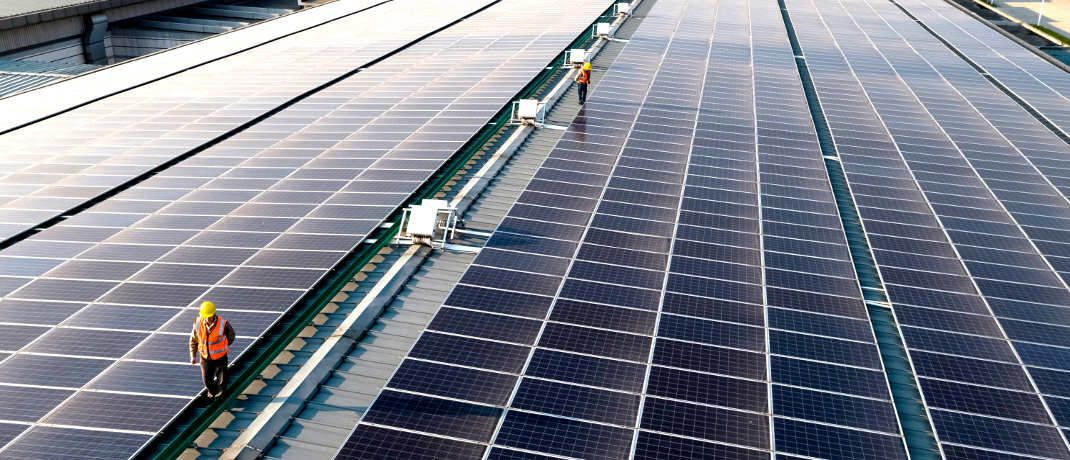 Solarstrom-Produktion: Apple will in China auf erneuerbare Energie setzen.  | © Apple