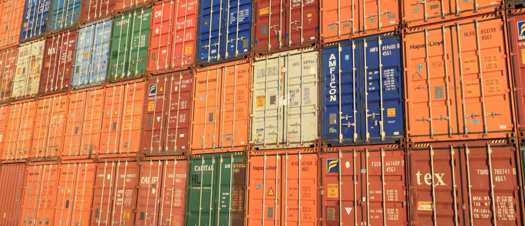 Schiffscontainer im belgischen Antwerpen: Deutsche Anleger haben mit Investments in die Transportboxen schlechte Erfahrungen gemacht.|© Pixabay