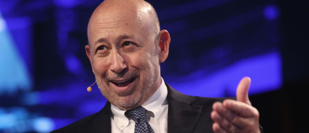 Verlässt bald den Chefposten: Goldman-Sachs-CEO Lloyd Blankfein | © Getty Images